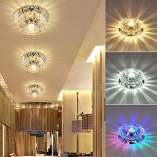 3W / 5W Crystal LED mennyezeti világítótestet Medál lámpa csillár (China)