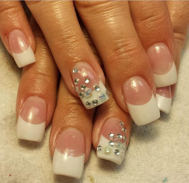 Acrylic nails by Stacey Thomas