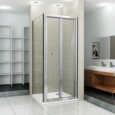 46 Best Bi Fold Shower Door Images On Pinterest Shower Doors