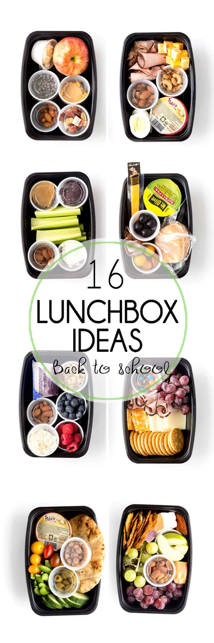Lunchbox Ideas: 16 eazy peazy Lunchbox ideas you will love that aren't sandwiches, and that adults and kids will love! Perfect lunches for going back to school. via @Rachael Yerkes