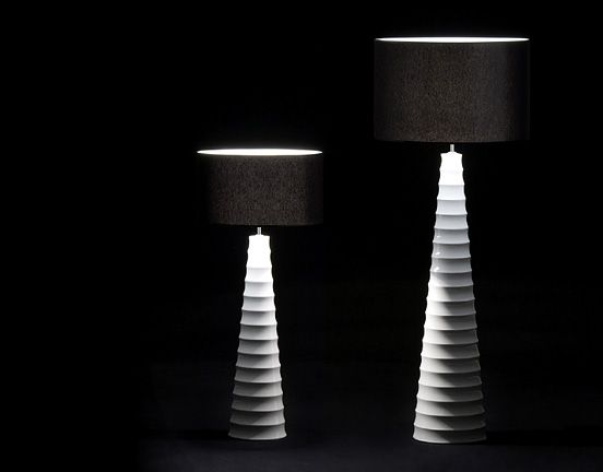 Alexandra Collection Xpression Table Lamps