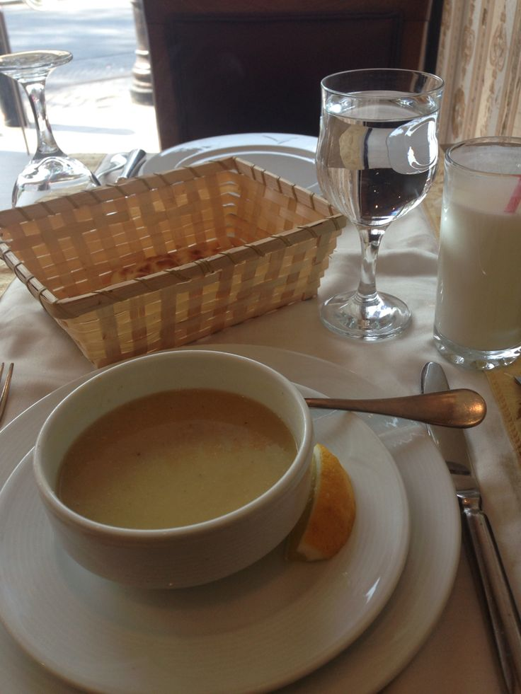 Lantis soup: soup of the (every) day!   And every restaurant!!