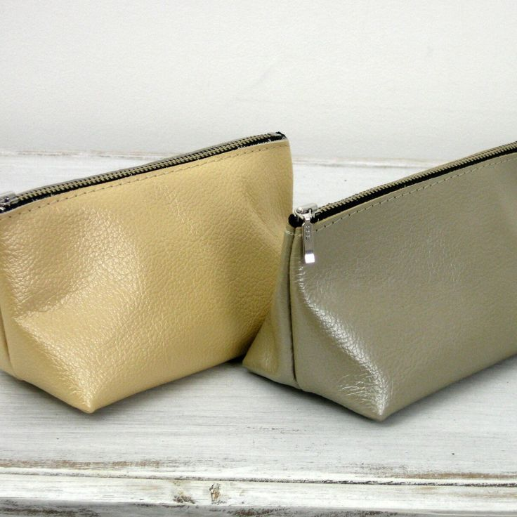 How do you like new pouches in silver and gold?