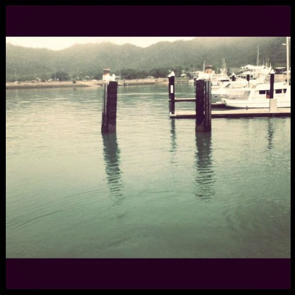 Dock at Magnetic Island QLD