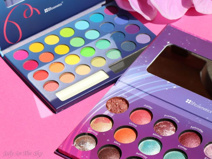 July In The Sky, mon blog Beauté et Photo : BH Cosmetics : les palettes Galaxy Chic et Take Me To Brazil