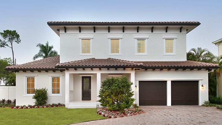 Home Plan HOMEPW77696 - 3746 Square Foot, 4 Bedroom 4 Bathroom + Italianate Home with 2 Garage Bays | Homeplans.com