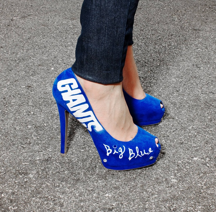 new york giants womens heels collections