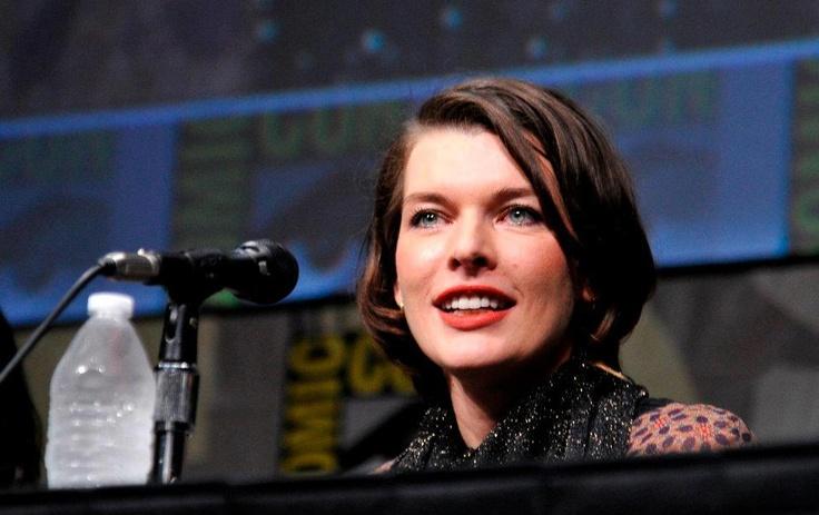 Milla Jovovich - Comic-Con 2012