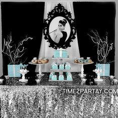 A Tiffany's Themed Bridal Shower - Tiffany's