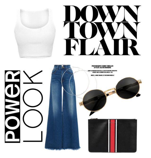 """""""Power look"""" by pusheencute on Polyvore featuring Frame and Givenchy"""