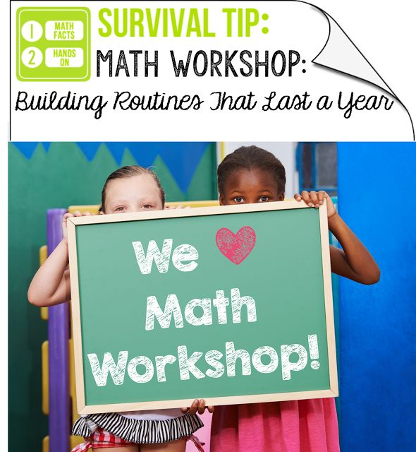 online jewelery Math Workshop  Building Routines That Last a Year