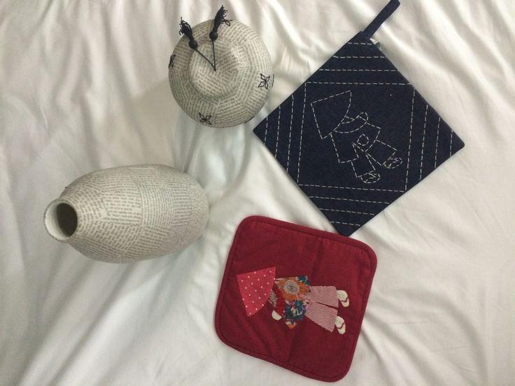 Quelques achats chez Mékong créations