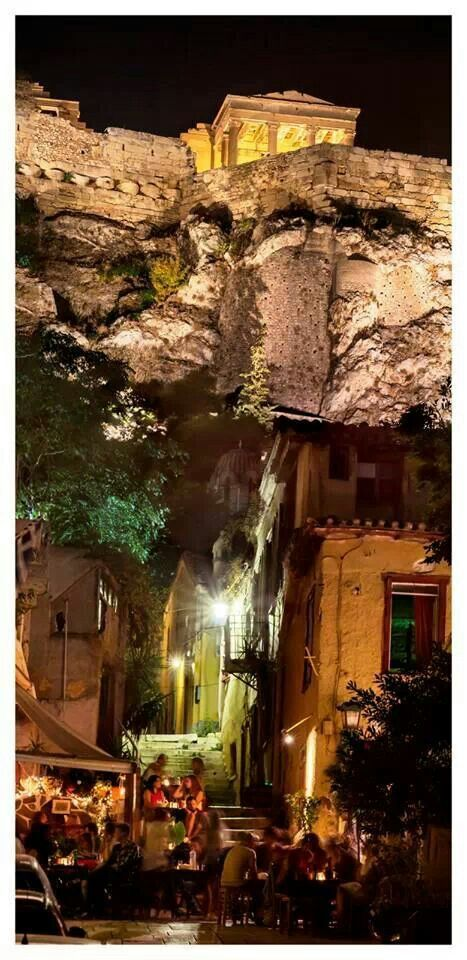 Athens by night! |