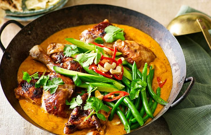 Curry in hurry! Yes, you'll have this creamy, vibrant Indian feast on the table in next to no time.