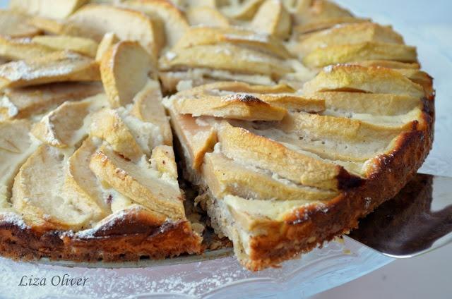 MY FOOD или проверено Лизой: Диетический яблочный пирог с овсянкой и йогуртом