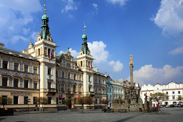 Wander around Pardubice and look for some perník