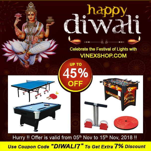 Celebrate This Diwali With Vinexshop Com Get Up To 45 Off Extra 7 Discount Using Coupon Code Diwali7 On All Spo Fitness Stores Sport Fitness Fun Sports