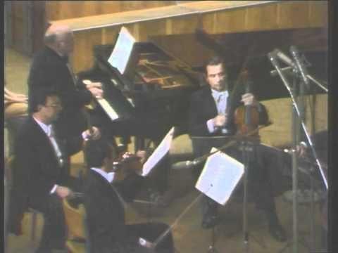 Sviatoslav Richter and the Borodin Quartet play Dvorak Quintet No. 1  Op.5