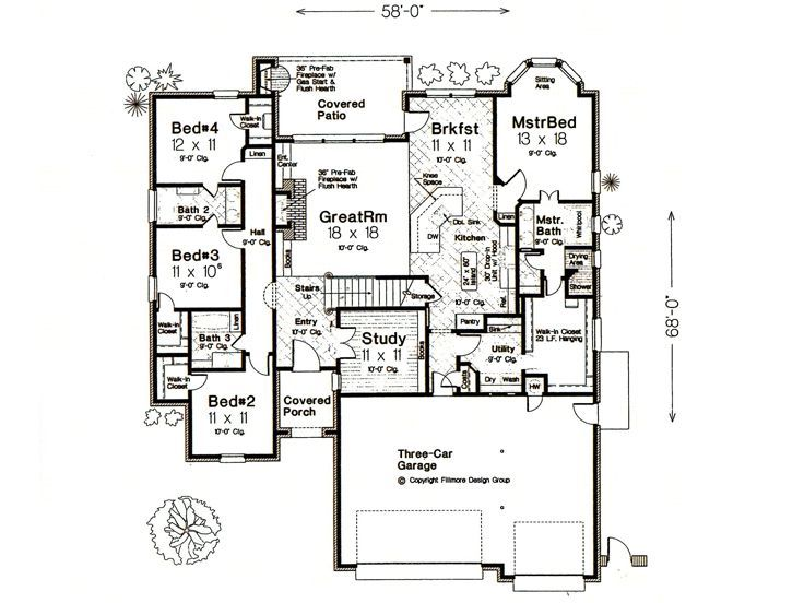 Darn Near Perfect Except I Would Make The Master A Game/theater Room U0026 All  The Bedrooms Be On The Upstairs With The Earlier Plan.