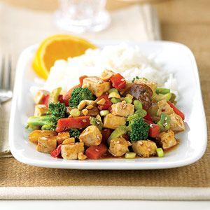 Sesame-Tofu Stir-Fry