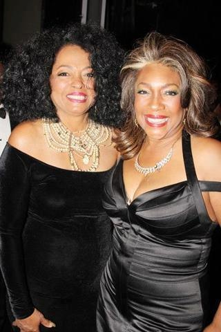"""Diana Ross and Mary Wilson at the Broadway Premiere of """"Motown-The Musical"""" April 14, 2013"""