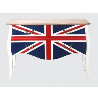 Rustic Union Jack Sideboard