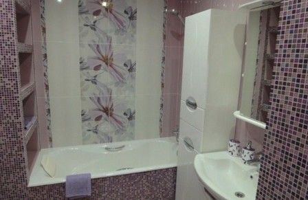 Оформление интерьера небольшой ванной комнаты  #ремонт_ванны #небольшая_ванна #дизайн_интерьера