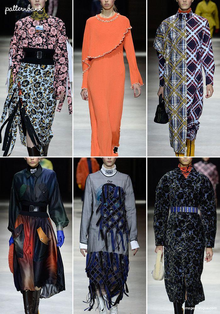 Kenzo – Fall 2017 – RTW – Paris Fashion Week – Print & Pattern Highlight
