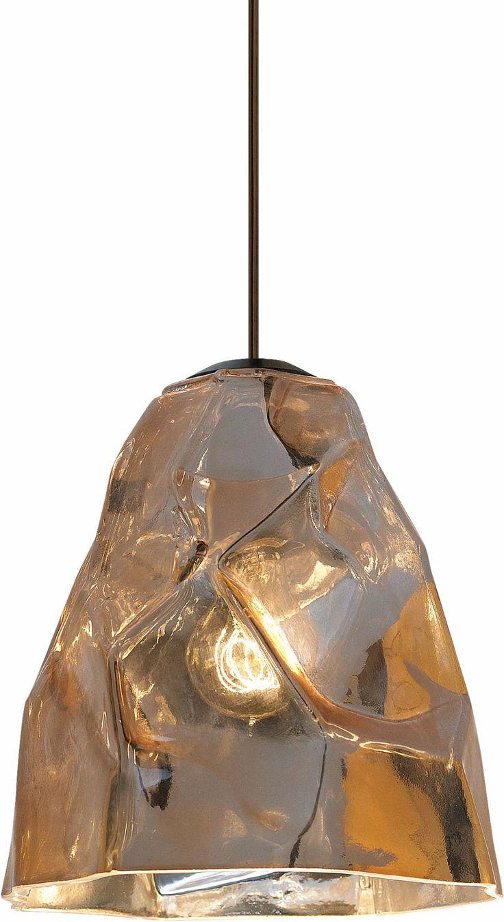 LBL Lighting LP764 Zuri Contemporary Pendant Light LBL LP764I Like This In  The Copper Finish