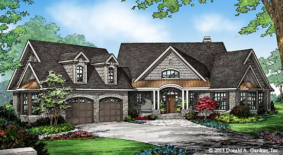 Plan of the week over 2500 sq ft the sylvan plan 1321 for 2500 sq ft log home plans