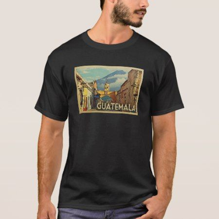 Guatemala Vintage Travel T-shirt - tap to personalize and get yours