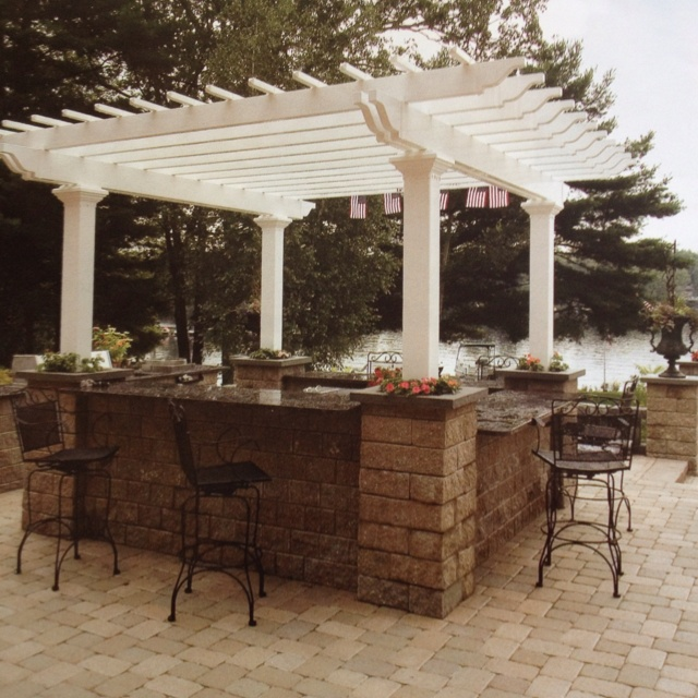 132 best Backyard images on Pinterest Decks, Landscape design - outdoor patio design ideen