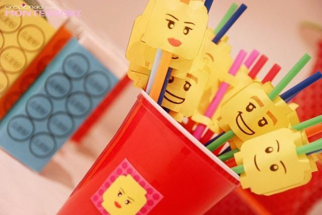 Lego party con Imprimibles (Lego Party Printables) - Creciendo con Montessori