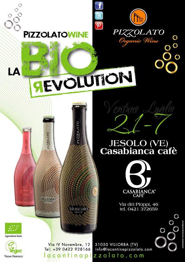 Tutto è pronto per la terza tappa del #Bio #Revolution #Tour. L'invito a partecipare ad un'altra serata #frizzante, ideato dallo Studio #Francescon & #Collodi.