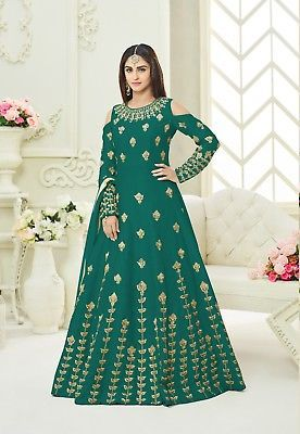 Other Womens Clothing 314: Indian Bollywood Pakistani Ethnic Suit Wedding Designer Anarkali Suit Se Us 08 -> BUY IT NOW ONLY: $67.99 on eBay!
