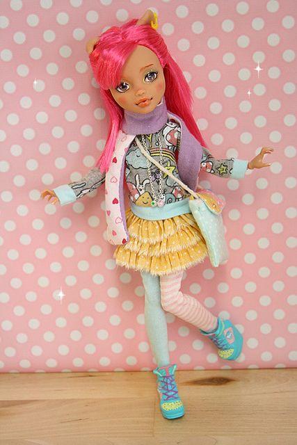 Bambi Ooak Monster High doll!