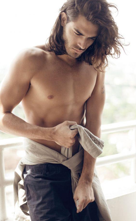 Classic Long hair of Men