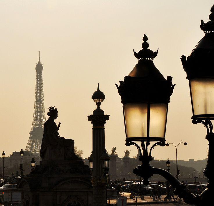 paris lighting street - photo #1