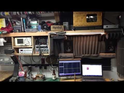 A workshop tour of a wood, metal, electronics shop - pretty good layout