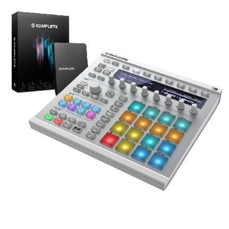 Native Instruments Maschine MK2 with Komplete 11 The Native Instruments Maschine MK2 with Komplete 11 is a special bundle compiled by Gear4music that includes an upgrade to Komplete 11 for the ultimate production experience. The Native Instruments M http://www.MightGet.com/january-2017-11/native-instruments-maschine-mk2-with-komplete-11.asp
