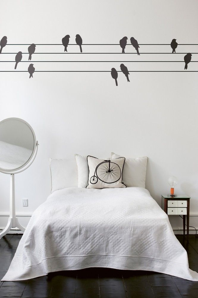 powerbirds wall sticker