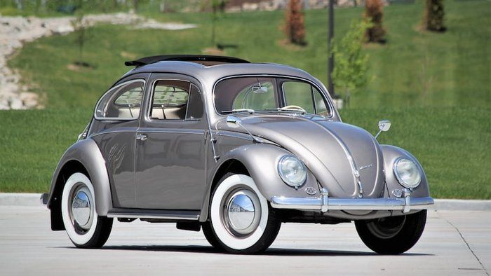 Classic 1956 Volkswagen Beetle At Auction 2111127 Indianapolis Indiana Concours Nut And Bolt Restoration Sl Volkswagen Beetle Vw Beetle Classic Volkswagen