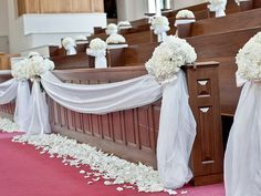 front of church wedding decorations - Google Search