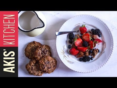Healthy Oatmeal and Tahini Cookies | Akis Petretzikis