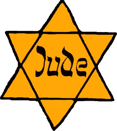 Jewish Badges during the Holocaust, The Jews were required to wear a yellow star to indicate that they were Jewish.