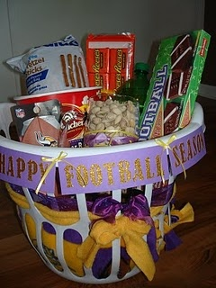 happy football season gift! (: Or other sports season, this is also a cool idea for birthdays for those in vball!!! orrrrrr hunting;)