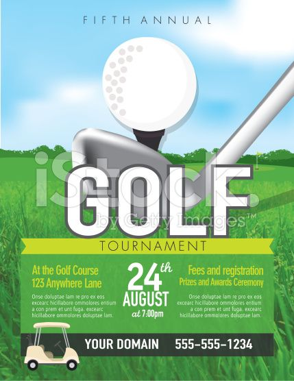Best Golf Tournament Poster Ideas Images On   Poster