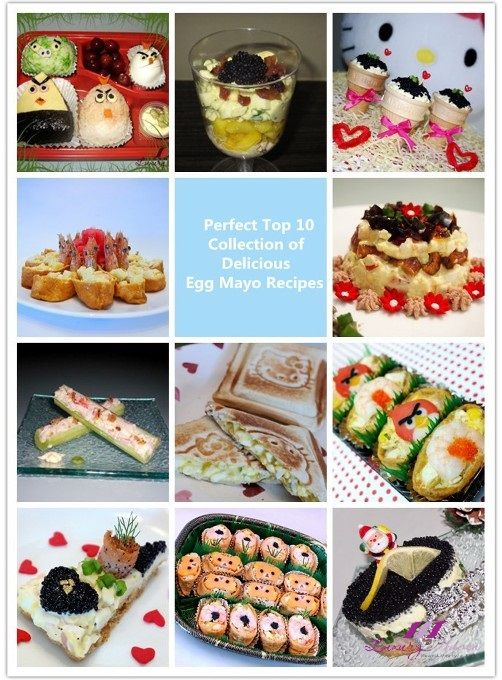 Check Out The Perfect Top 10 Collection of Delicious #EggMayo #Recipes!