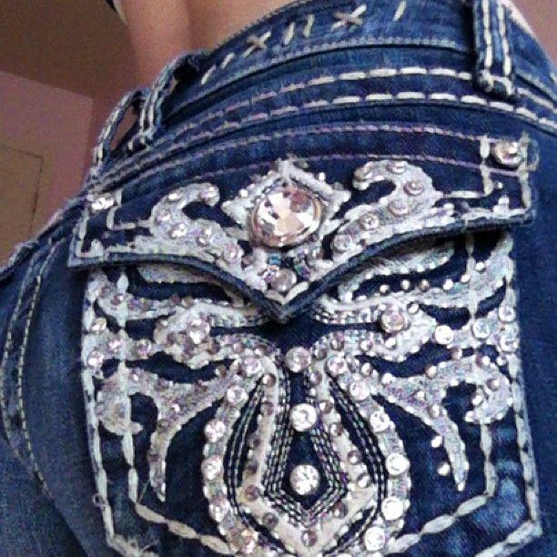 Cute Silver Jeans <3