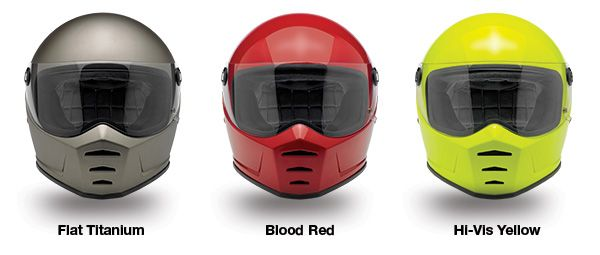 Coming soon from Biltwell Inc — the very intriguing new Lane Splitter helmets.